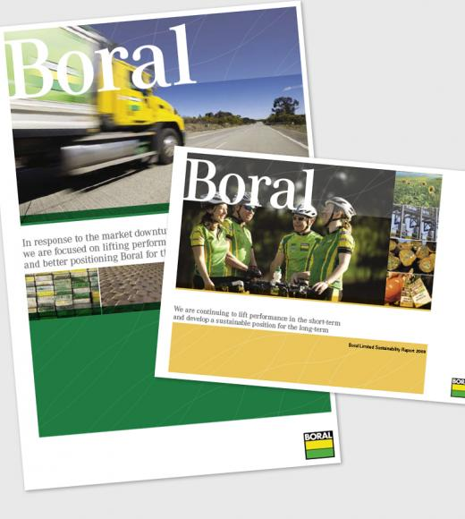 Boral Annual Report and Boral Review 2009