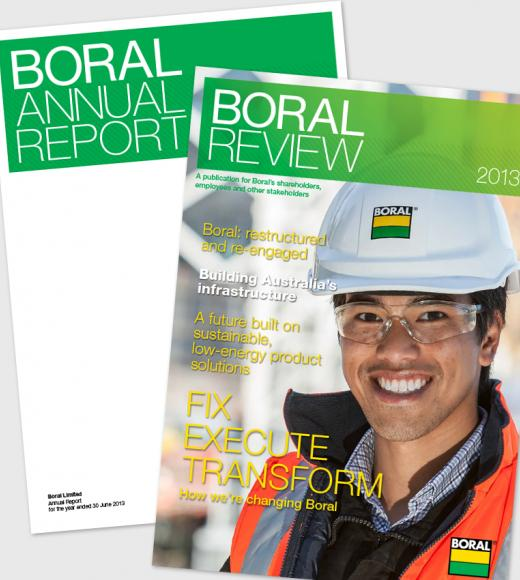 Boral Annual Report and Boral Review 2013