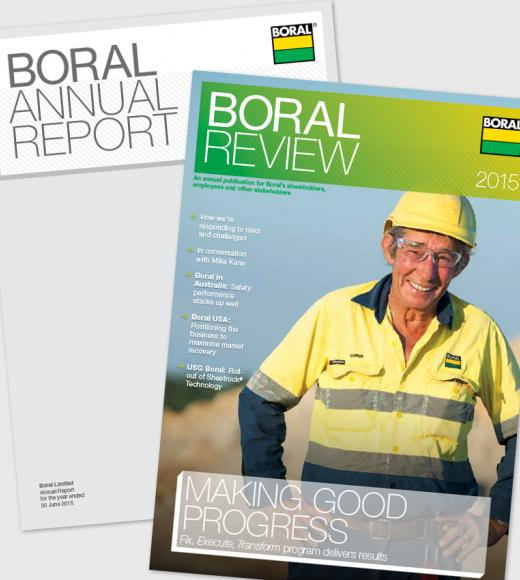 Boral Annual Report and Boral Review 2015