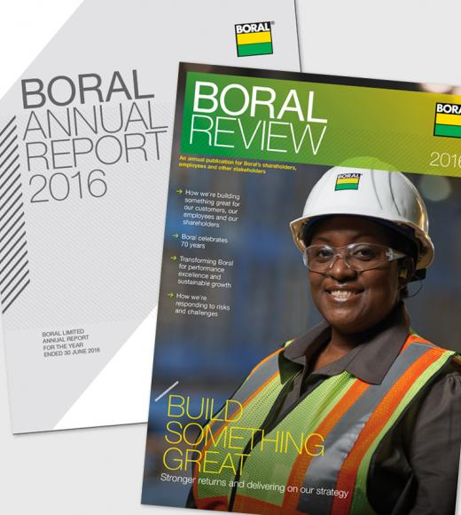 Boral Annual Report and Boral Review 2016