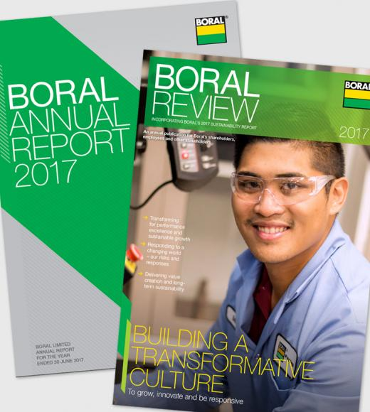 Boral Annual Report and Boral Review 2017