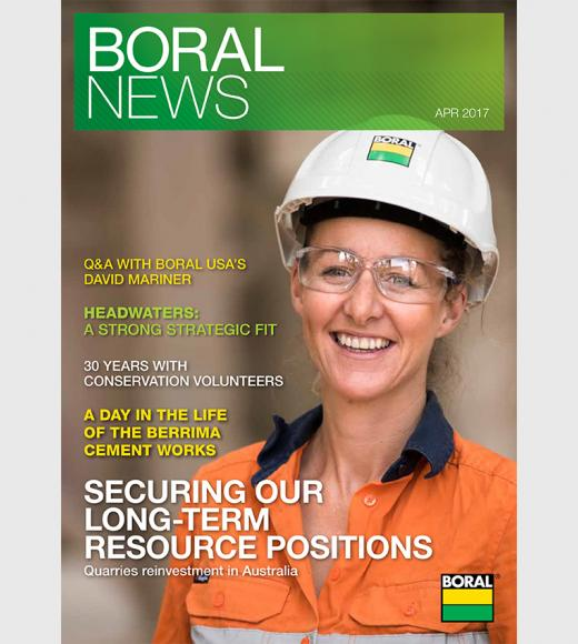 Boral News Issue 1, 2017