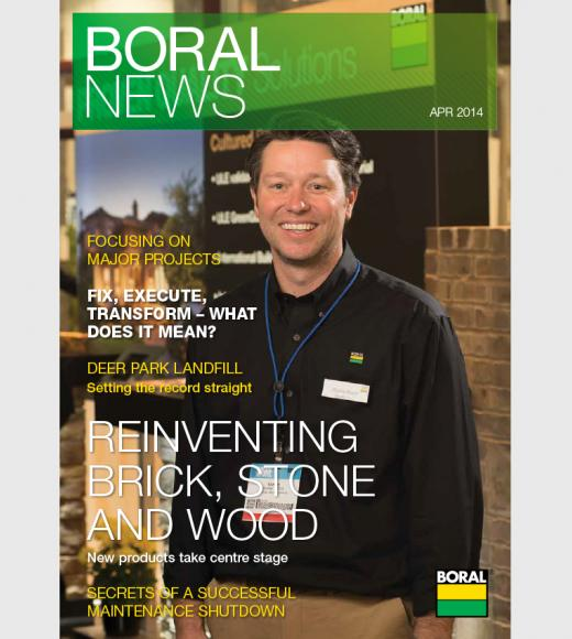 Boral News Issue 1, 2014