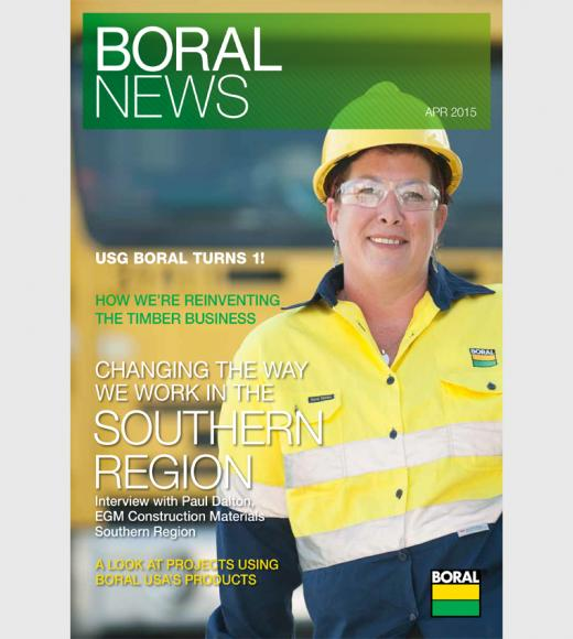 Boral News Issue 1, 2015