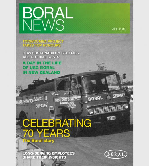 Boral News Issue 1, 2016