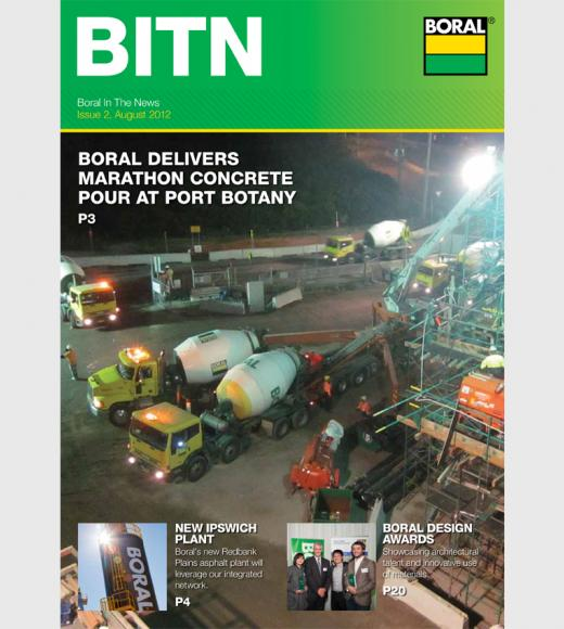Boral News Issue 2, 2012